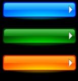 Botones del Web. stock de ilustración