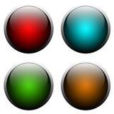 Botones del Web Fotografía de archivo libre de regalías