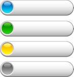 Botones del Web. ilustración del vector