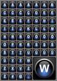 Botones del Web ilustración del vector