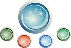 Botones del Web stock de ilustración