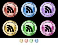 Botones del Web del color stock de ilustración