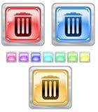 Botones del Web del color. Fotos de archivo