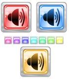 Botones del Web del color. Fotografía de archivo libre de regalías