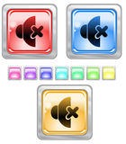 Botones del Web del color. Fotografía de archivo
