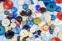Botones en diversos colores imagen de archivo libre de regalías