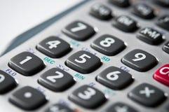 Botones en una calculadora Fotografía de archivo