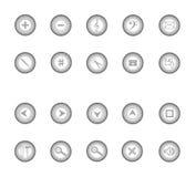 Botones grises libre illustration