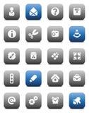 Botones misceláneos de Matt Foto de archivo libre de regalías