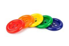 Botones multicolores Imagen de archivo libre de regalías