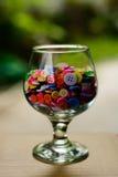 Botones multicolores brillantes Imagenes de archivo