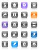 Botones multicolores misceláneos Fotografía de archivo