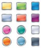 Botones para el Web Imágenes de archivo libres de regalías