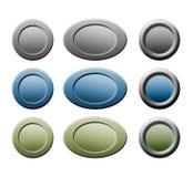 Botones para el Web Fotografía de archivo