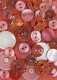 Botones rojos Fotos de archivo