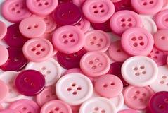 Botones rosados Imagenes de archivo