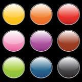Botones vacíos Foto de archivo