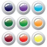 Botones Varicolored. Foto de archivo libre de regalías