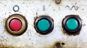 Botones viejos Imagen de archivo libre de regalías