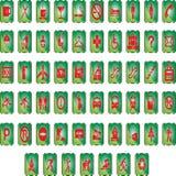 Botones, Web brillante Foto de archivo libre de regalías