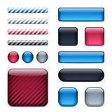 Botones y barras brillantes libre illustration