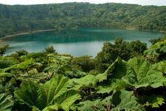 Botos Lagoon. Scenic view of Botos Lake or Lagoon, Poas Volcano National Park, Costa, Rica Stock Image