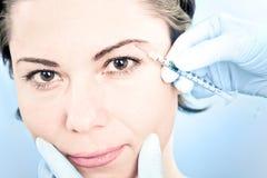 BOTOX®-injektion Royaltyfri Bild