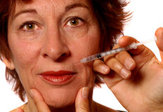 BOTOX® Treatment Stock Image
