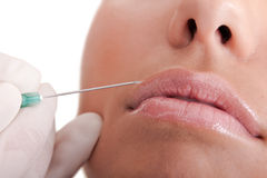 Botox beauty treatment Stock Photography