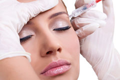 Botox Injection Stock Photography