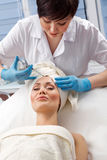 Botox injection Royalty Free Stock Photography
