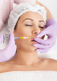 Botox injection Royalty Free Stock Image