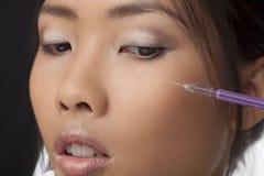 Botox injection Stock Photography