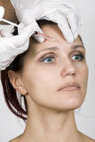 Botox injections Royalty Free Stock Image