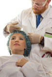 BOTOX� Treatment Royalty Free Stock Photography