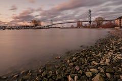 Botschafterbrücke Stockfoto