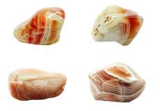 Botswana agata krystaliczni kwarcowi kopalni geological kryształy Zdjęcie Stock