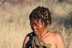 botswana bushwoman Fotografia Royalty Free