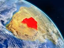 Botswana del espacio libre illustration