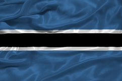 Botswana Flag 3 Royalty Free Stock Image