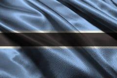 Botswana flag ,Botswana national flag 3D illustration symbol. Stock Images