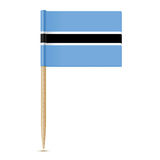 Botswana Flag. Flag toothpick 10eps Royalty Free Stock Photos