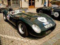 Bottaio Jaguar Sport alla bandiera 2017 dell'argento di Vernasca Fotografie Stock
