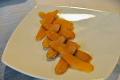 Bottarga : pâte d'oeufs de poissons Nourriture typique de la Sardaigne Photos libres de droits