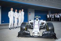 Bottas Jerez 2015 Stock Image