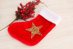 Botte de Noël pour remplir cadeaux photos libres de droits