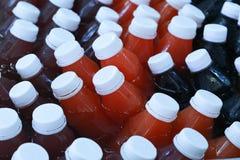 Bottel zdrowy napój Fotografia Stock