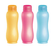 Bottels di plastica Immagini Stock Libere da Diritti