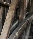 Bottes de bois de construction Image libre de droits
