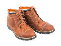 Bottes de Brown Images stock